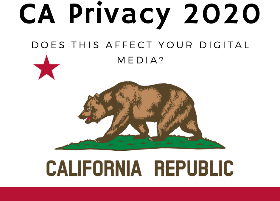 Does California consumer privacy affect ads?